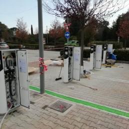 Colonnine: Energia 4.0 | Fotovoltaico e sistemi di produzione di energie rinnovabili | Corridonia (MC)
